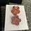 Thumbnail: Rose gold and burnt light orange dangle resin flowers