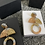 Thumbnail: Rose gold, silver n gold resin dangles