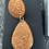 Thumbnail: Druzy type large teardrop and round post dangles