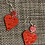 Thumbnail: Roped heart dangle wires