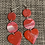 Thumbnail: Pretty in red n pink dangle post