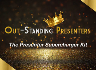 """""""The Presenter Supercharger Kit"""" For How To Present Confidently In Business So You Can Fast-Track An"""