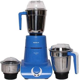 Havells MaxxGrind 750 W Mixer Grinder  (Blue, 3 Jars)