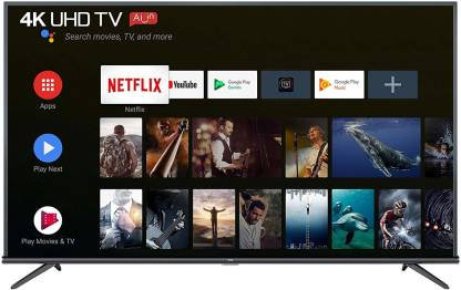 TCL 138.78cm (55 inch) Ultra HD (4K) LED Smart Android TV  (55P8E) 4.330 Ratings