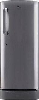 LG 235 L 5 Star Inverter Direct Cool Single Door Refrigerator (GL-D241APZY, Shin