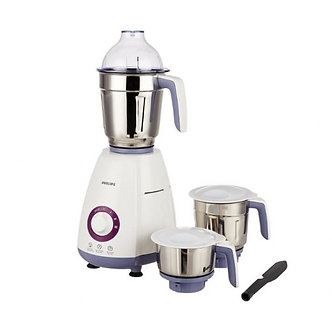 Philips NEW HL7699 750 Mixer Grinder  (White, 3 Jars)