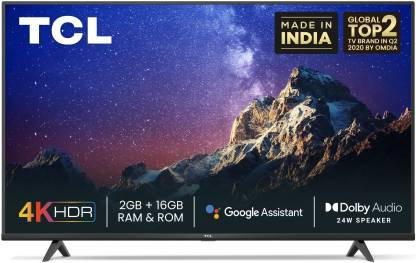 """TCL 55P615 55"""" 4K Android TV"""