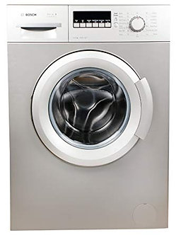 Bosch 6 kg Fully-Automatic Front Loading Washing Machine (WAB20267IN, Silver Ino