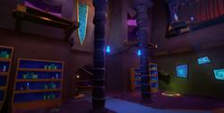 Blue Team Base Interior