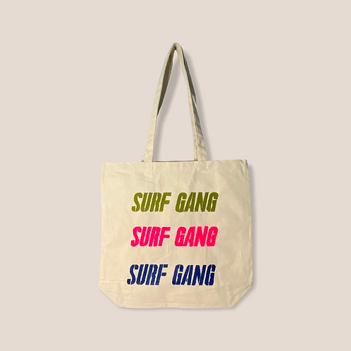 Tote bag Surf Gang