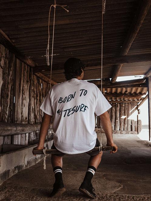 T-shirt Born to Kitesurf