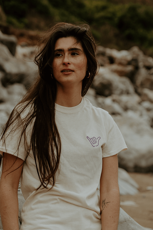 T-shirt Born to Surf