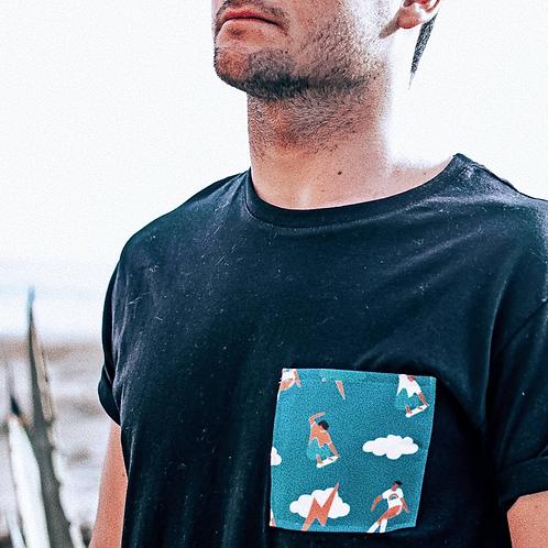 T-shirt Skateur