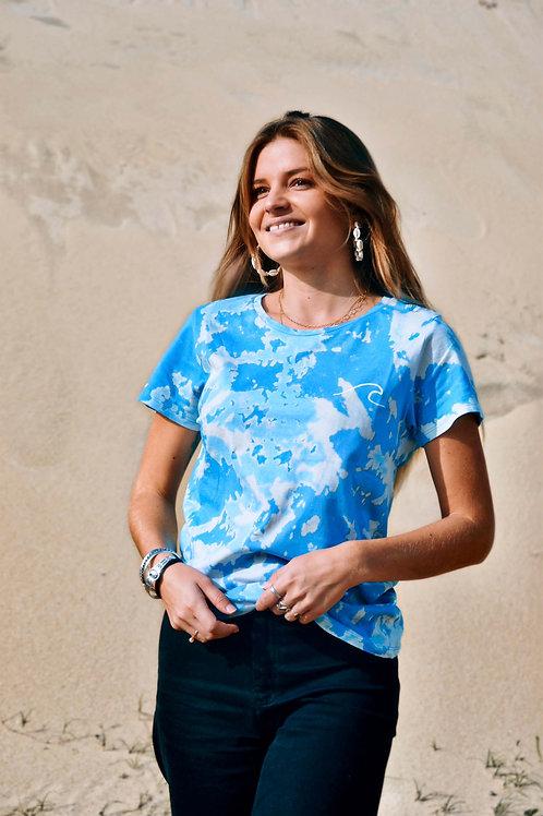 T-shirt Tie & Dye Océan