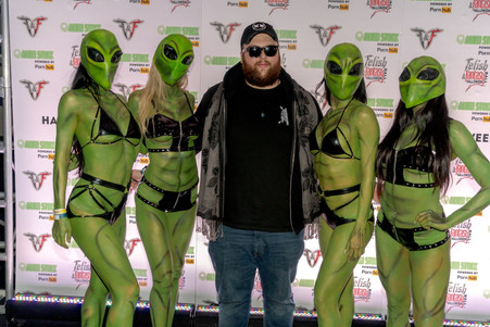 Alienstock Co-Founder & Alien Girls