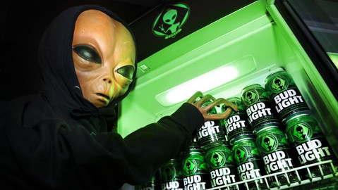 Bud Light Alien
