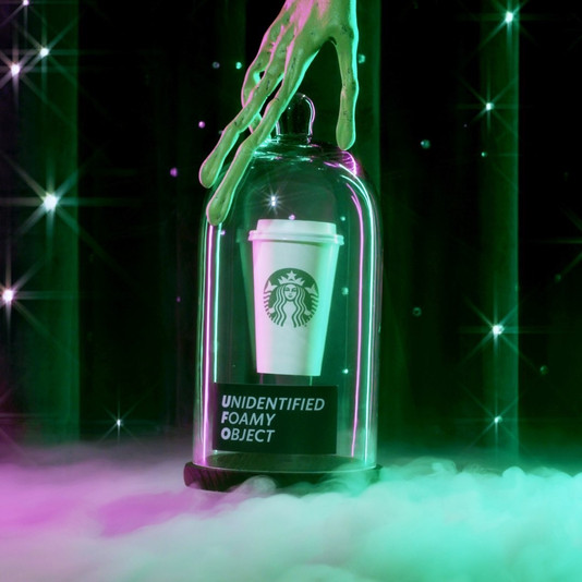 Starbucks UFO