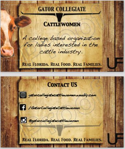 Gator Colligate Cattlewomen