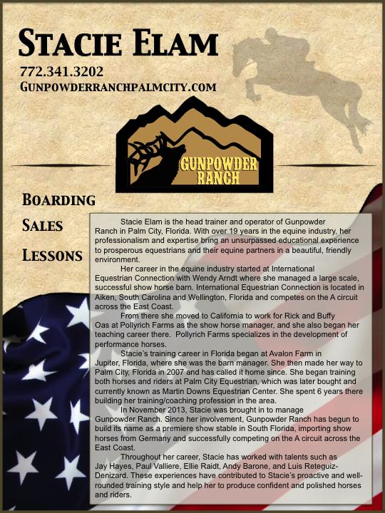 Gunpowder trainer ad
