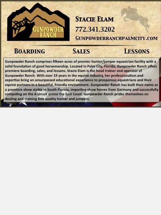 Gunpowder 1/2 page ad