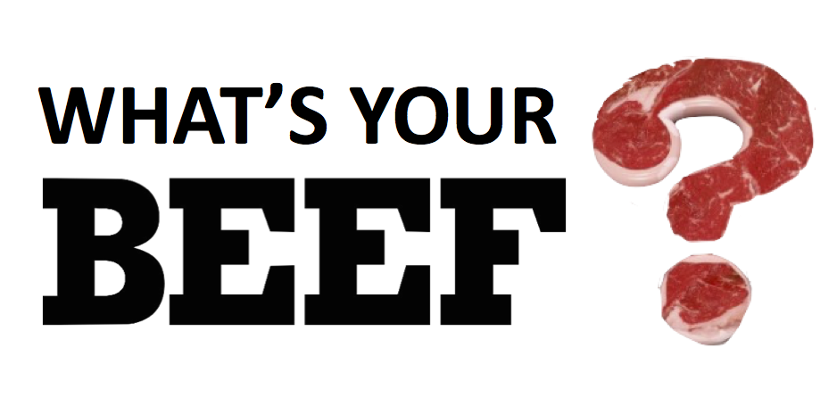 What's Your Beef Logo