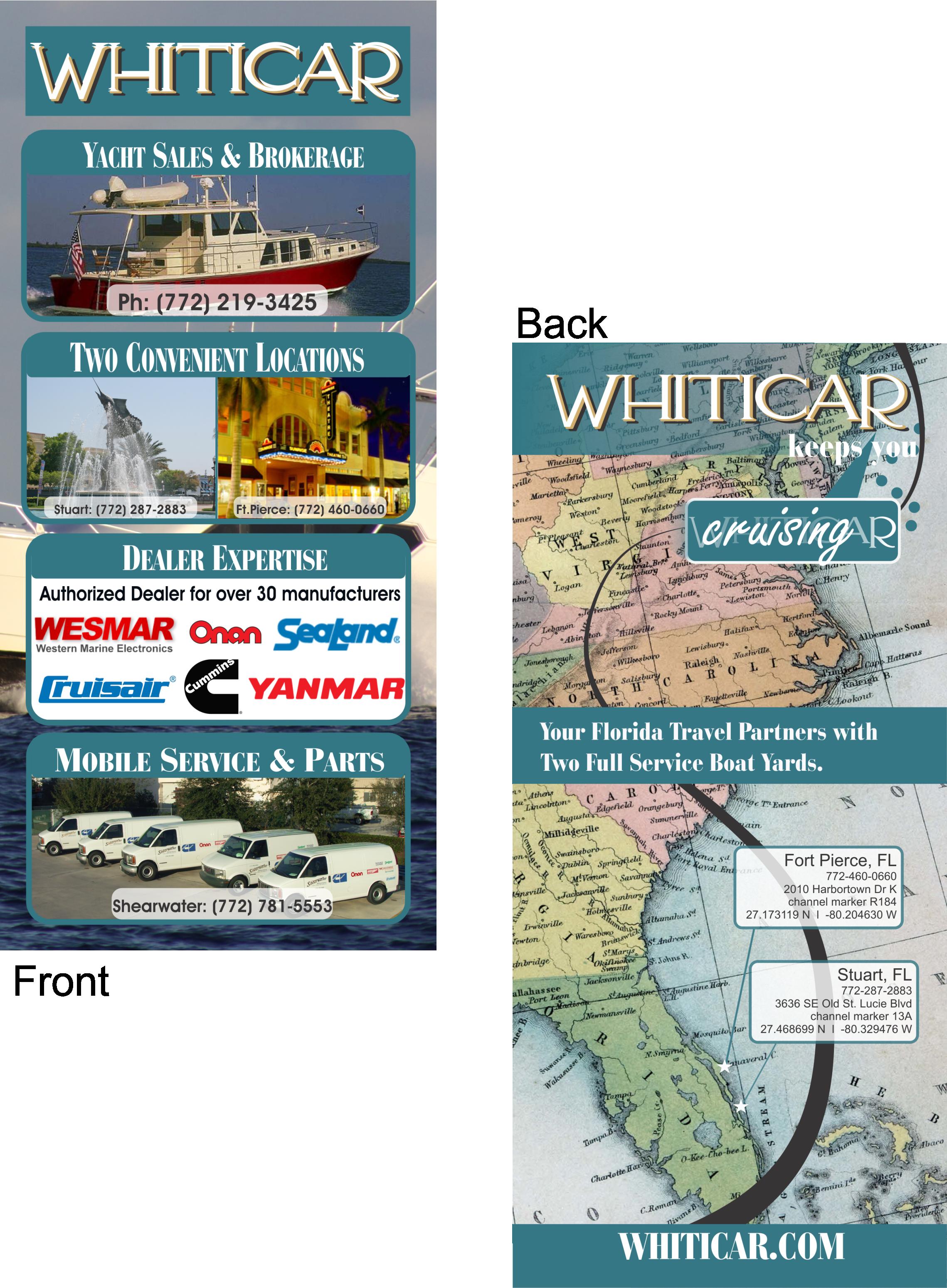 Whiticar Rack Card
