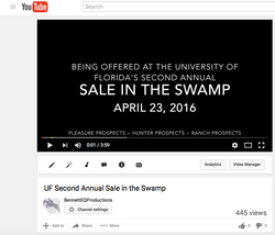 UF Sale in the Swamp