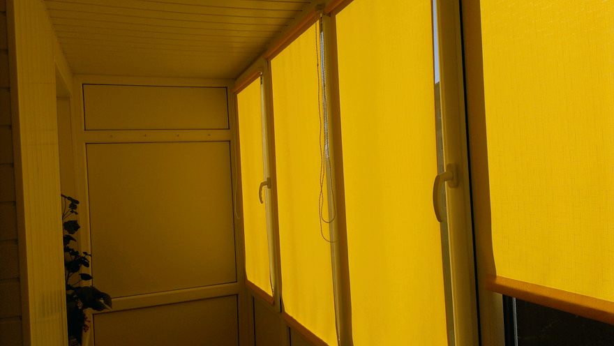 "балкон с крышей ""под ключ"""