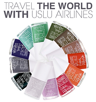 uslu airlines 指甲油