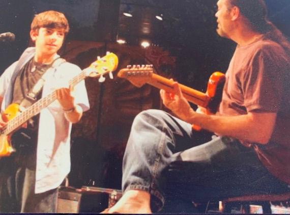 Deep Grooves Duo.... way back.jpeg