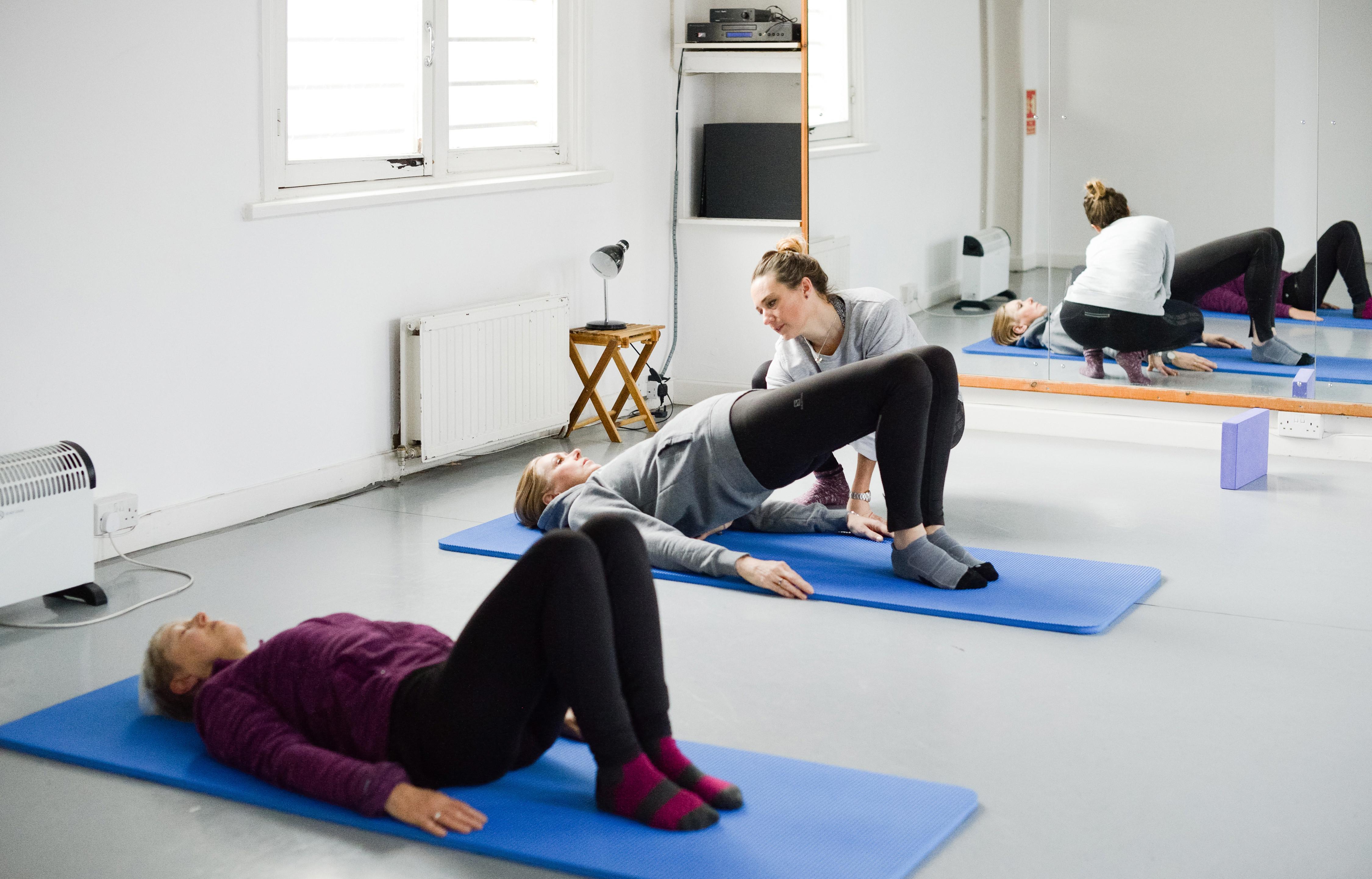 Zoom Pilates mid week- mid morning