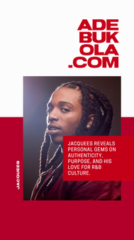 Essence Festival '19 x Adebukola Interview Graphic - Jacquees