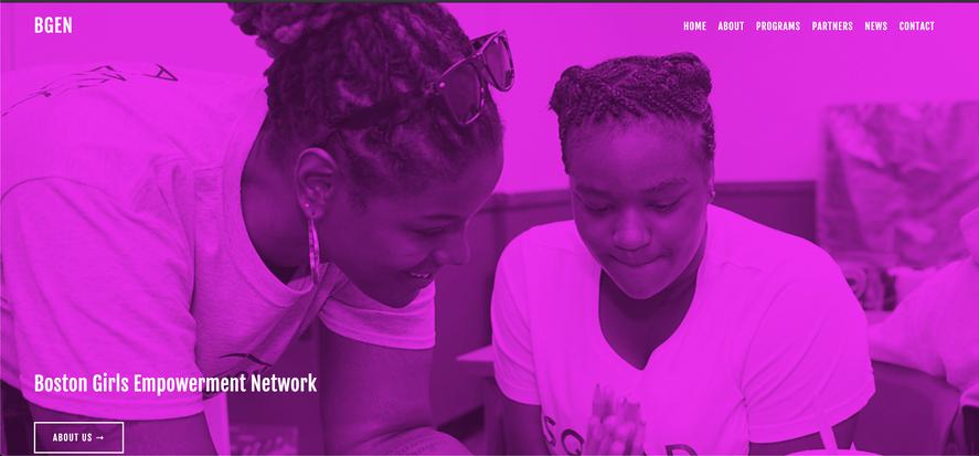 Boston's Girls Empowerment Network