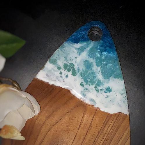Art on Teak - Ocean Inspired Dew