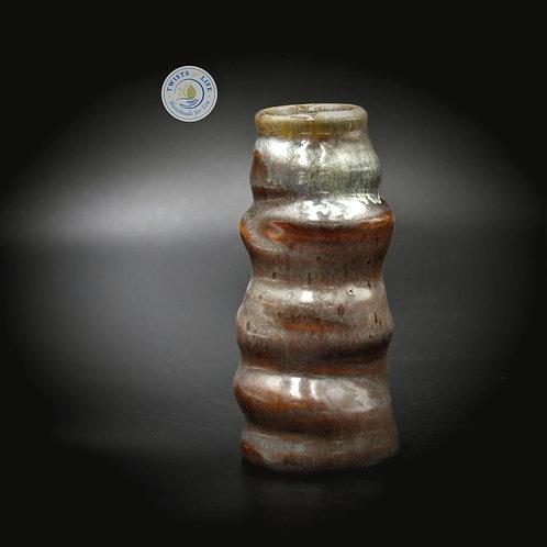 Brown & Beige vase, Twists of Life Ceramics, Twists of Life Handmade Ceramics, Handmade Ceramics Vase,Ceramic Vase, bud vase