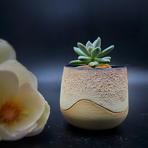 Gris Gris - Wave Planter - Magma Toasted