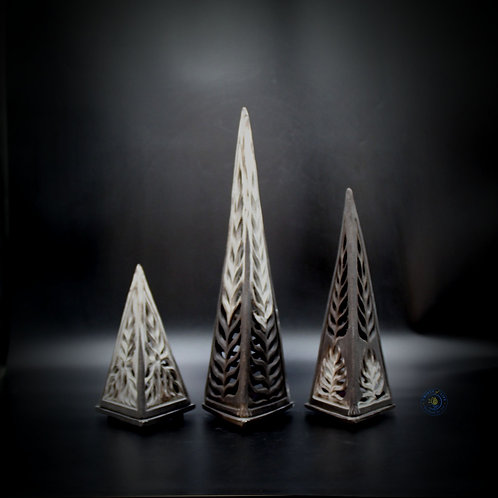 Bundeena - Pyramid Candle Holder (Set of 3)