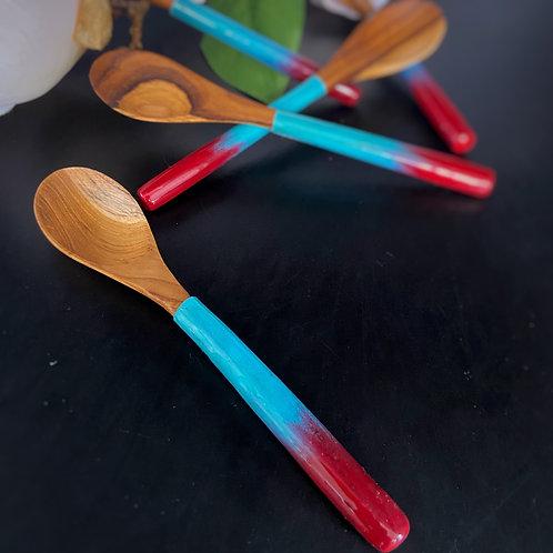 Art on Teak - Wooden Spoon Set (5 pcs)