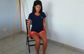 Confinement: exercices de maintien de la condition physique à domicile.