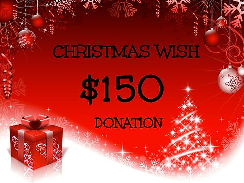 $150 Donation