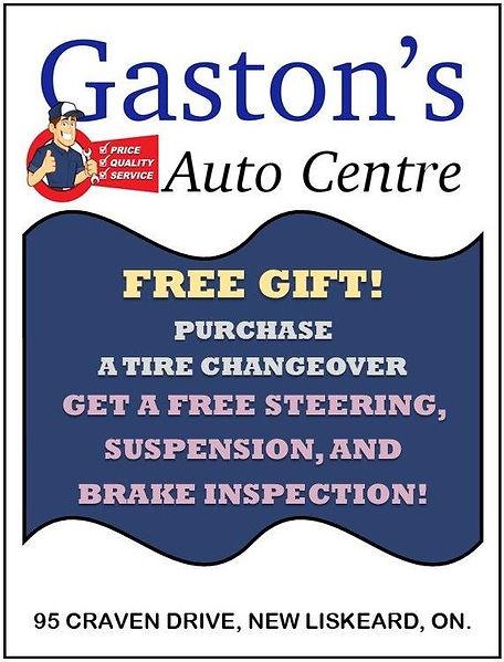 Gaston's Auto Centre  - Week 4 coupon.jp