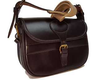 Bride leathercartridge bag, approx' 100 cartridgs - This and others available at www.durhamdecoys.com