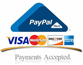 Pay over the phone, or online securelywith all of the usual PayPal guarantees.