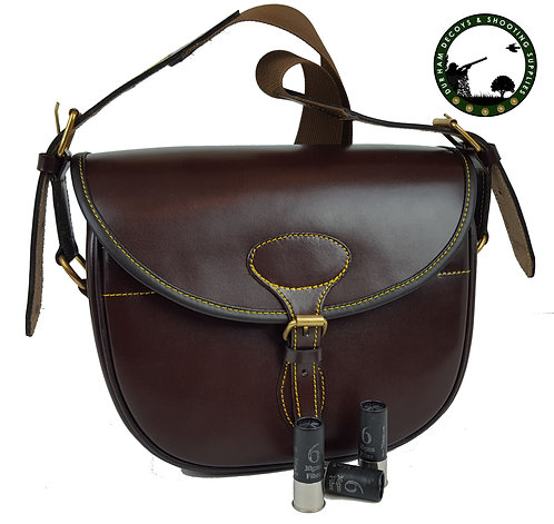 PU Leather cartridge bag, 100 cartridges from www.durhamdecoys.com