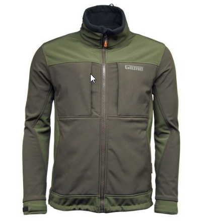 Game - Viper Soft Shell jacket, waterproof, windproof, breathable fabric, contrasting 2 tone.