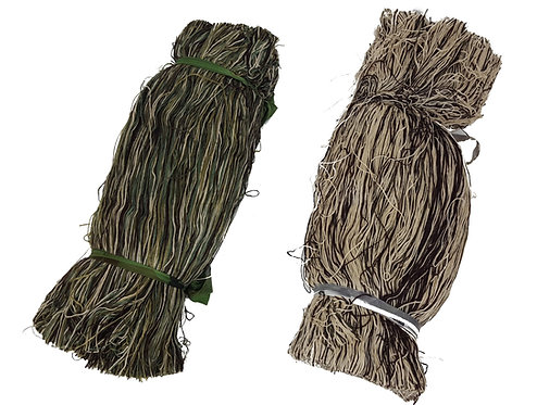 multi coloured twine for camo nets, hides, ghillie suits etc. Enhance your hide set