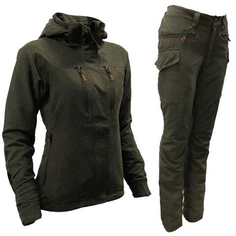 Elise ladies shooting jacket & trousers from Game technical Apparel-Available from Durham Decoys & Shooting Supplies