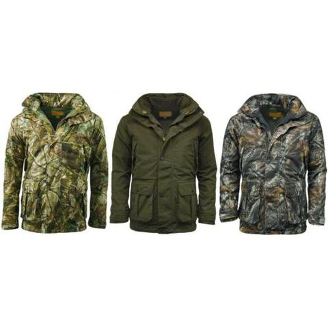 Game 3in1 Stealth Jacket, removable fleece, hunters green, passion green & Staidness from durham decoys & shooting supplies