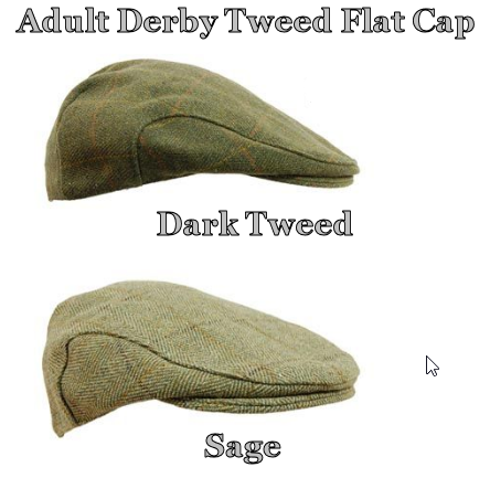 Game - Derby Tweed Flatcap - Dupont Teflon Coating, comfort lining, inner band for comfort & security,