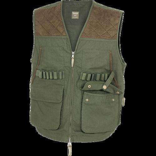 Jack Pyke Countryman Hunters vest, shooting vest, cartridge loops, 5 pockets, full zip